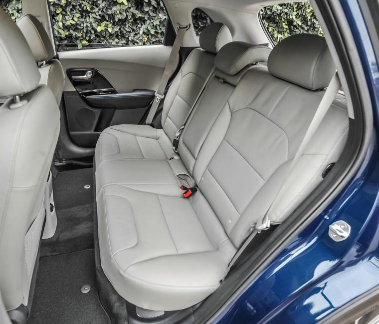 2018 Kia Niro Touring Hybrid Rear Seats Picture