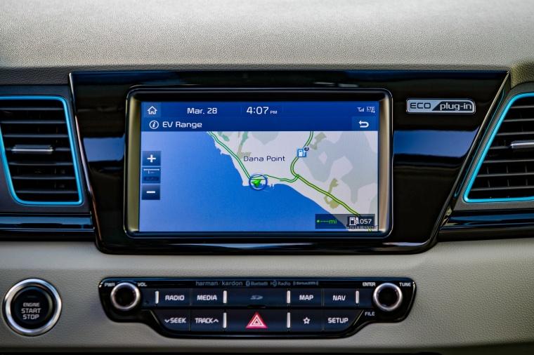 2018 Kia Niro Plug-In Hybrid Dashboard Screen Picture