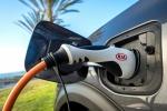 Picture of a 2018 Kia Niro Plug-In Hybrid's Power Plug
