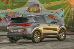 2017 Kia Sportage EX in Mineral Silver - Static Rear Right Three-quarter View