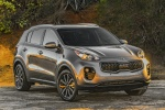 2017 Kia Sportage EX in Mineral Silver - Static Front Right View
