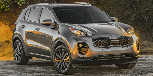 Research the 2019 Kia Sportage