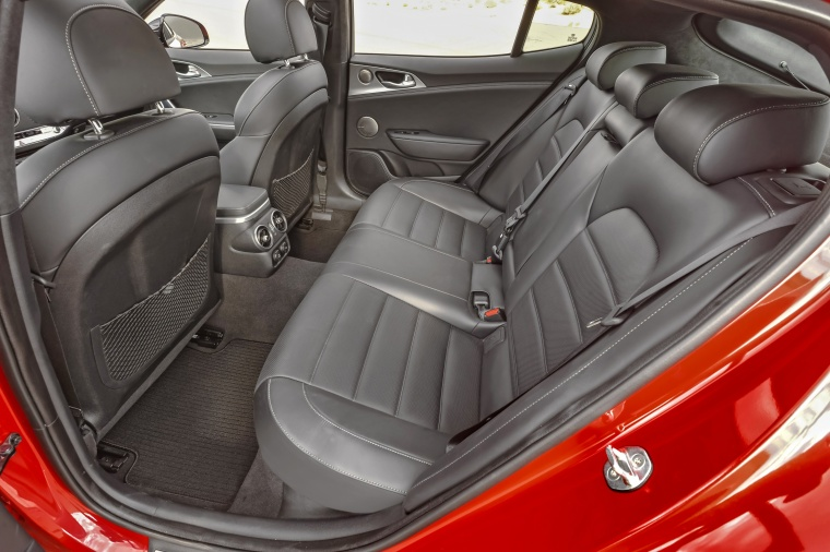 2018 Kia Stinger GT Rear Seats Picture