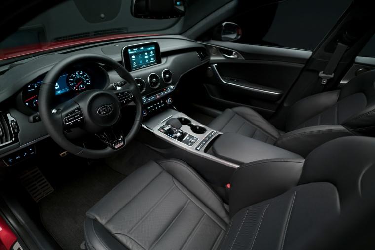 2018 Kia Stinger GT Interior Picture