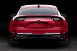 2018 Kia Stinger GT in HiChroma Red - Static Rear View