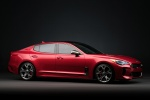 2018 Kia Stinger GT in HiChroma Red - Static Front Right Three-quarter View
