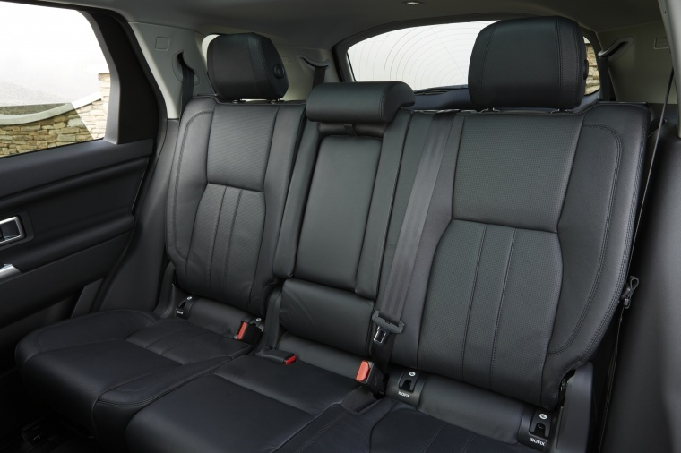 2018 Land Rover Discovery Sport HSE Luxury Rear Seats Picture