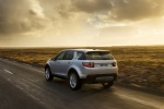 2018 Land Rover Discovery Sport HSE Luxury in Indus Silver Metallic - Driving Rear Left View