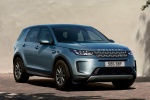 Picture of a 2020 Land Rover Discovery Sport P250 S in Byron Blue Metallic from a front right perspective
