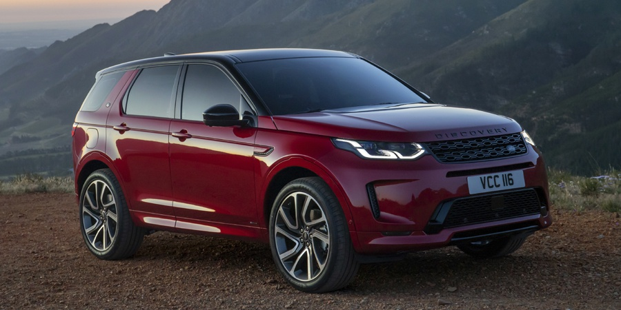Research the 2020 Land Rover Discovery Sport