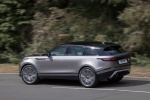 2019 Land Rover Range Rover Velar P380 HSE R-Dynamic in Silicon Silver Premium Metallic - Driving Rear Left Three-quarter View
