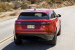 2019 Land Rover Range Rover Velar P250 SE R-Dynamic in Firenze Red Metallic - Driving Rear View