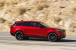 2019 Land Rover Range Rover Velar P250 SE R-Dynamic in Firenze Red Metallic - Driving Right Side View
