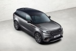 2019 Land Rover Range Rover Velar P380 HSE R-Dynamic in Silicon Silver Premium Metallic - Static Front Right Three-quarter Top View