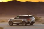 2020 Land Rover Range Rover Velar P380 R-Dynamic HSE in Silver - Driving Rear Left Three-quarter View