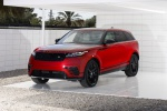 Picture of a 2020 Land Rover Range Rover Velar P250 R-Dynamic S in Firenze Red Metallic from a front left perspective