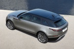 2020 Land Rover Range Rover Velar P380 R-Dynamic HSE in Silver - Static Rear Left Three-quarter Top View