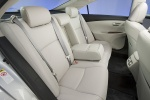 Picture of 2010 Lexus ES 350 Rear Seats in Light Gray