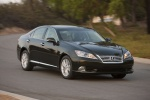 2011 Lexus ES 350 in Peridot Mica - Driving Front Right Three-quarter View