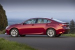 Picture of 2013 Lexus ES 300h Hybrid Sedan in Matador Red Mica