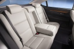 Picture of 2014 Lexus ES 300h Hybrid Sedan Rear Seats in Light Gray