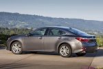 2015 Lexus ES 350 Sedan in Nebula Gray Pearl - Static Rear Left Three-quarter View