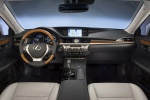 Picture of 2015 Lexus ES 300h Hybrid Sedan Cockpit in Light Gray