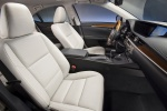 Picture of 2015 Lexus ES 300h Hybrid Sedan Front Seats in Light Gray