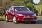 Picture of 2015 Lexus ES 300h Hybrid Sedan in Matador Red Mica
