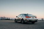 2016 Lexus ES 350 Sedan in Atomic Silver - Static Rear Left View