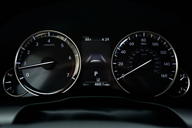 2017 Lexus ES 350 Sedan Gauges Picture