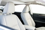 2017 Lexus ES 350 Sedan Front Seats in Parchment
