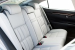 2017 Lexus ES 350 Sedan Rear Seats in Parchment