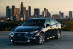 2017 Lexus ES 300h Sedan in Nightfall Mica - Static Front Left View