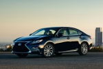 2017 Lexus ES 300h Sedan in Nightfall Mica - Static Front Left Three-quarter View