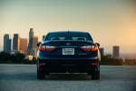 2017 Lexus ES 300h Sedan in Nightfall Mica - Static Rear View