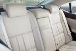 Picture of 2017 Lexus ES 300h Sedan Rear Seats in Parchment