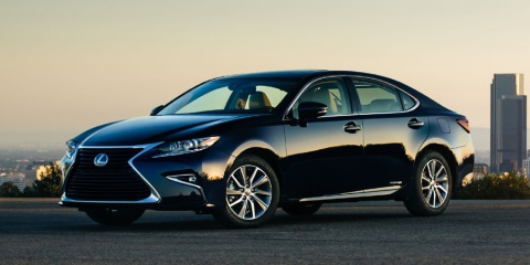2017 Lexus ES 350, 300h, ES350, ES300h, Hybrid Review