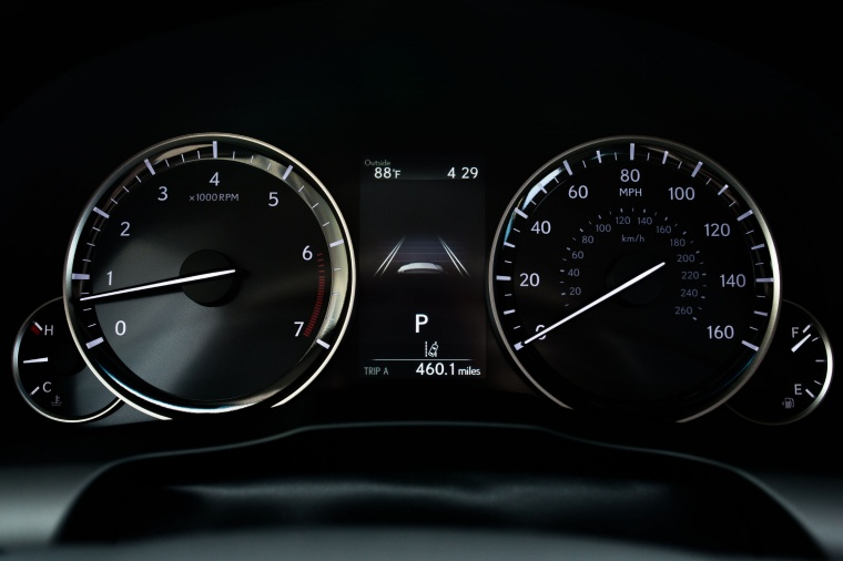 2018 Lexus ES 350 Sedan Gauges Picture