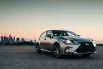 2018 Lexus ES 350 Sedan in Atomic Silver - Static Front Right View