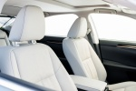 2018 Lexus ES 350 Sedan Front Seats in Parchment
