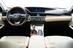 2018 Lexus ES 300h Sedan Cockpit in Parchment