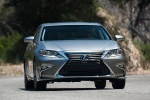 2018 Lexus ES 350 Sedan in Atomic Silver - Driving Frontal View