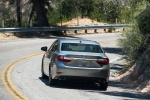 2018 Lexus ES 350 Sedan in Atomic Silver - Driving Rear View