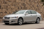 2010 Lexus GS 450h Sedan in Mercury Metallic - Static Front Left Three-quarter View