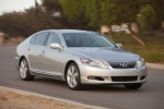 2010 Lexus GS 450h Sedan in Mercury Metallic - Driving Front Right View