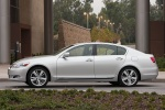 2011 Lexus GS 450h Sedan in Mercury Metallic - Static Left Side View