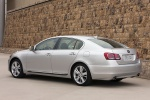 2011 Lexus GS 450h Sedan in Mercury Metallic - Static Rear Left Three-quarter View