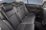 Picture of 2011 Lexus GS 450h Sedan Rear Seats in Black