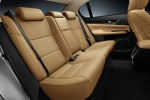 Picture of 2013 Lexus GS 350 Sedan Rear Seats in Flaxen